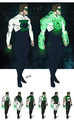konradwerks:  My entry for Project Rooftop's Green Lantern redesign contest, deadline is May 15th ya'll, get on it! Personally I like #s 4, 5, and 6 better… but I think this simple scheme better suits the character.