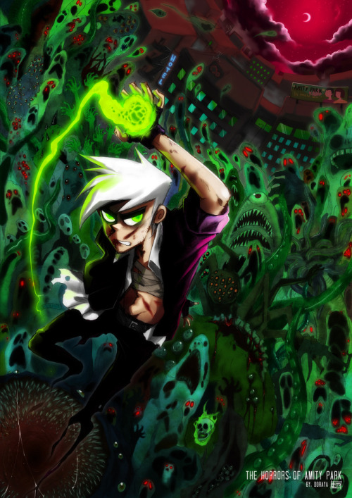 mrdannyphantom:  The Horrors of Amity Park by *fightbeast