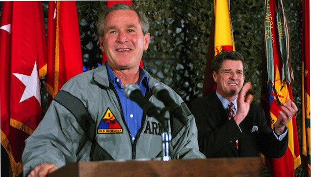 "I Guess We Need to Say It Again: George W. Bush Was the Worst  above: Look at this colossal fucking piece of shit. Photo via Rex USA Americans get stereotyped as stupid, but I think it's unfair to call us ignorant, exactly—the problem is that we, as a nation, have a short memory. Sometimes this constant state of collective amnesia serves us well, allowing the country to move on from tragedy and put out of our minds the failures and injustices of, but sometimes it results in 47 percent of Americans say that they approve of George W. Bush. That's according to a poll conducted by the Washington Post and ABC in advance of the opening of his new presidential library, which opened today and seems devoted to telling visitors, ""Sure, Dubya started wars, condoned torture, dug the country deeper into debt, and watched as terrorists launched the most successful attack on US soil ever, but it was really, really hard to be president, you guys. Would you have done any better? Thought not, asshole."" Even if that 47 percent number is too high, it's clear that a majority of Republicans still think he did a pretty good job That's a fucking disgrace, y'all. I guess we have to issue a disclaimer: any look back on an ex-president's record is going to be tinged with ideology and personal beliefs—conservatives really hate Woodrow Wilson, for reasons Glenn Beck can explain to you; liberals despise Ronald Reagan, who's practically a saint in Republican circles. And parts of Dubya's legacy are open for debate. You can have wonkish arguments over the pros and cons of Medicare Part D, the prescription drug benefit he signed into law; you can scoff, as Ron Paul has, at Bush's expansion of foreign aid or you can note how much good he did Africa. But the big-ticket stuff, the important things he did and didn't do when he was the most powerful elected official in the world, were all pretty much uniformly awful. Start with the Bush tax cuts, which were enacted thanks to the GOP's pathological hatred for taxes and the surplus the government was running at the time. They jacked up the deficit while mostly giving money back to rich people, but the real trick was setting them up to expire in 2010—when, the people pushing the cuts must have known, allowing them to do so would have been the same as raising taxes, which is political poison in America. (Sure enough, after a hideous fight on the edge of the ""fiscal cliff,"" most of the cuts are permanent.) Continue"