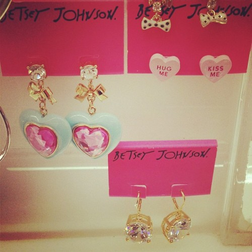 Craaavings! #betseyjohnson #jewelry #beauty #earrings