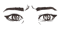 in-dy:  My pupils are different sizes today