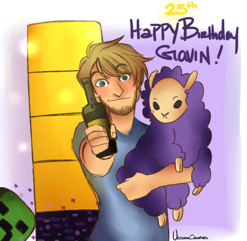 bonnieesworld:  Happy birthday gavin