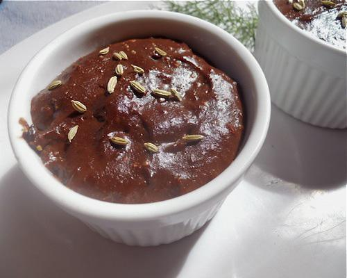 Recipe: Spiced chocolate pudding
