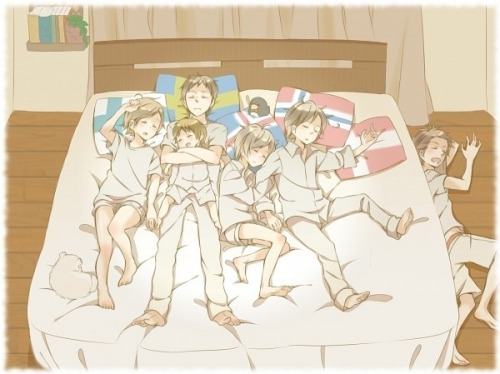 Hetalia love them Nordics
