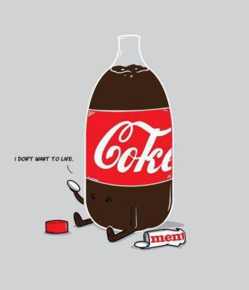 Coke commits suicide.