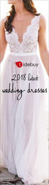 Tidebuy Cheap Wedding Dresses 2018