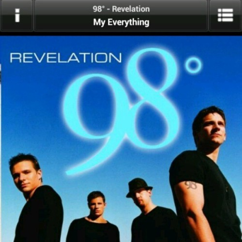 #trackspinning  #nowplaying #pop #boyband #98degrees #90's #music 98° - You Are My Everything  (at 44 Bus Stop)