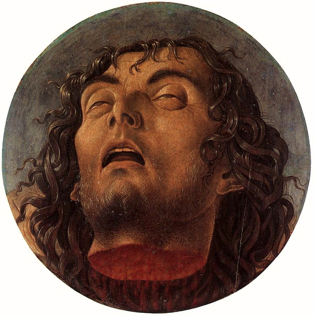 necspenecmetu:  Giovanni Bellini, The Head of Saint John the Baptist, c. 1464-8
