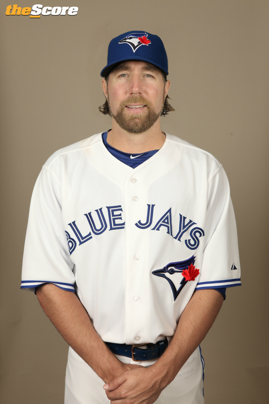 Pic: Does Dickey look good in #BlueJays Blue?