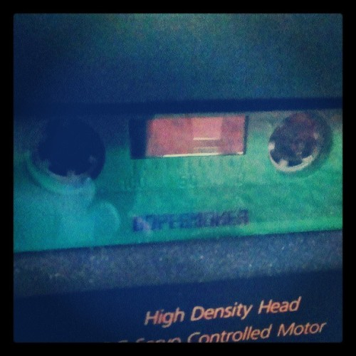 Got a cassette player. Now time for #sleep and the mighty #dopesmoker ! #doom #southernlord #matt #pike #brutal #green