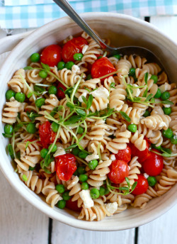 in-my-mouth:  Pasta Salad  this looks amazingly delicious.