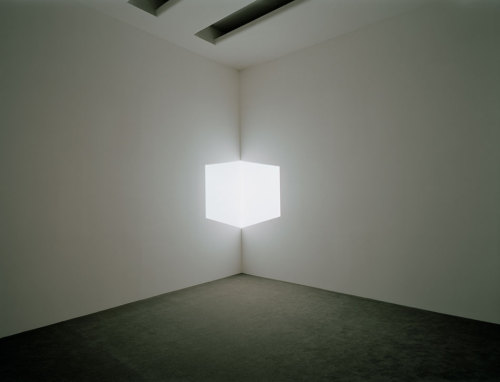 james turrell, afrum I (white), 1967