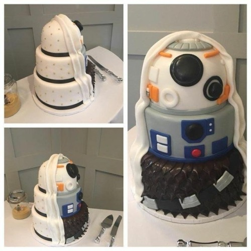 Star Wars Wedding Cake: Star Wars Wedding Cake