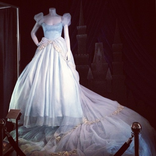 thequeenofswagdotcom:  Can I please have this #Cinderella dress as my wedding dress! #disney #d23 #archives