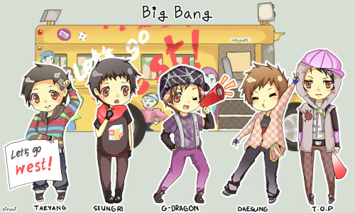otaku3:  Big Bang chibi! Uwahh, so kawaii~ >w<