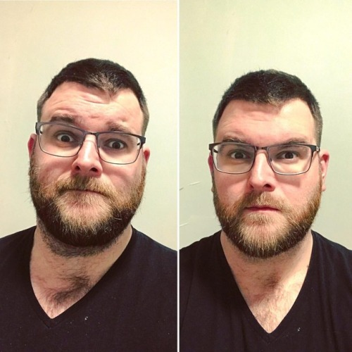 gaystagram hairy beard hairygay bear selfie gayswithbeards gay gaybeard beforeandafter