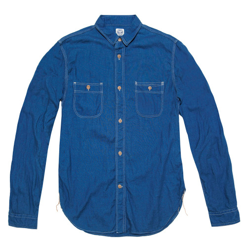 J.S. Homestead Indigo Shirt