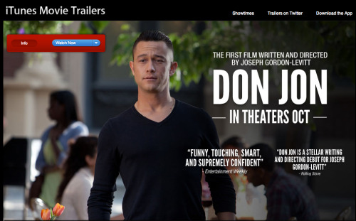 hitrecordjoe:  Hey everybody, the first trailer is now up for my new movie, Don Jon! I'm so curious to hear what you think of it :o)WATCH THE TRAILER HERE!