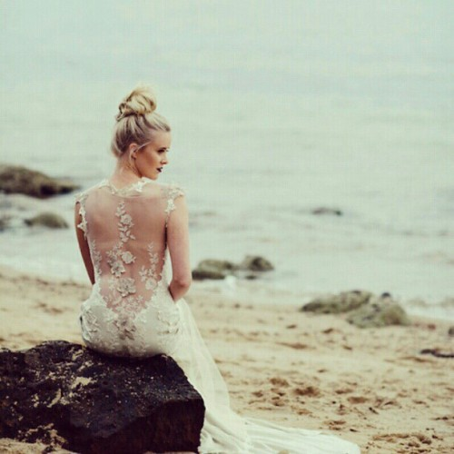Claire Pettibone 'Viola' wedding gown shown in a sneak peak from our Australian stockist, Intique & Co.'s recent shoot  Click here to see more of Viola —> http://bit.ly/PUIGar