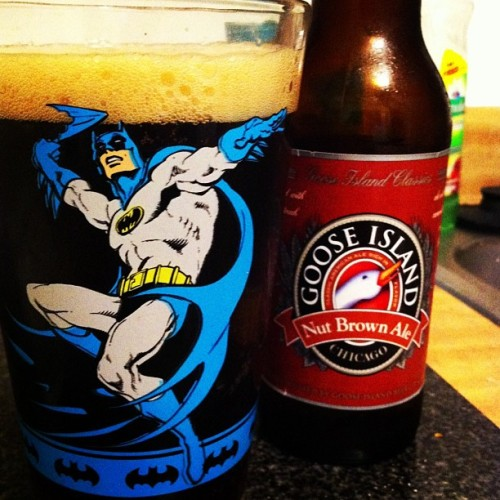 logannon:  It's that time again, Beer and #Batman  I approve of this.