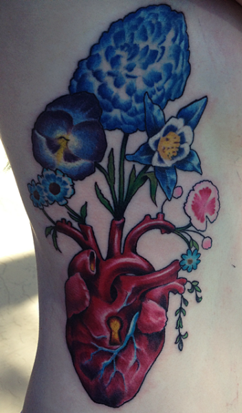 My new Rib cage tattoo done by Anson Eastin at Forever Tattoo in Cape Coral, Fl