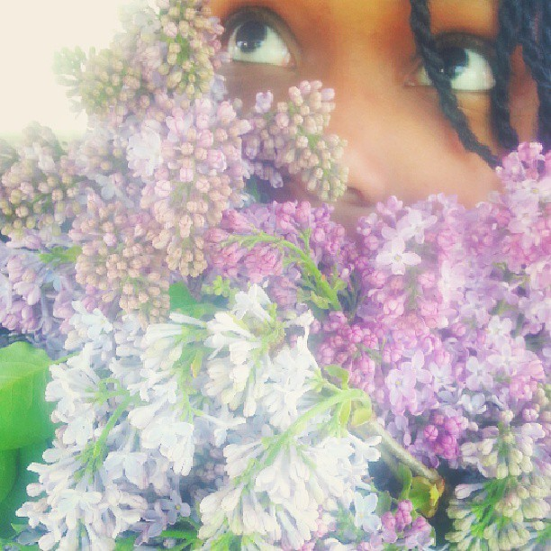 So, I received #flowers at work today.  #lovely #lilac