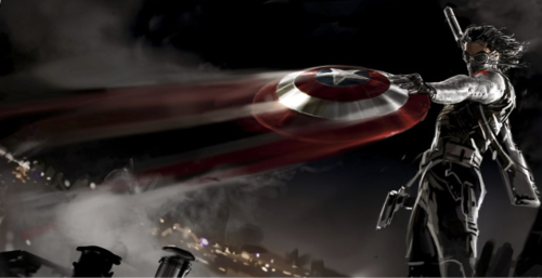 vengerturtle:  New Captain America: The Winter Soldier concept art from here.