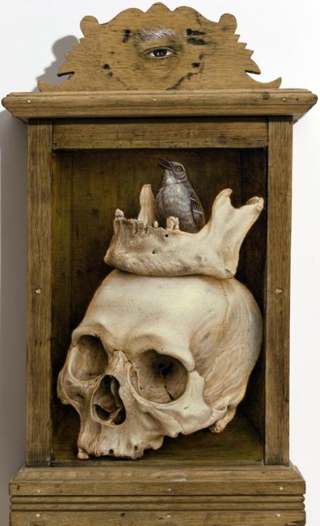 art-and-fury:  Memento Mori -Jean Labourdette(Turf One)