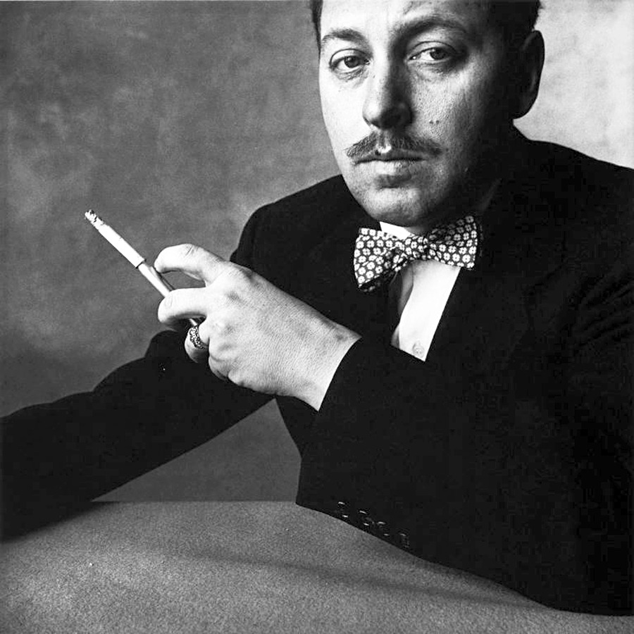 voxsart:  The Bow Tie Crowd. Tennessee Williams.   Be Dandy