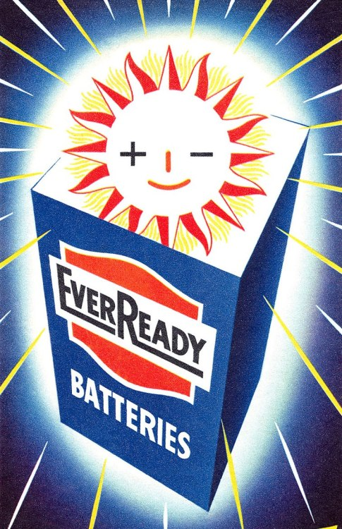 mudwerks:  EverReady Batteries advertisement. (by totallymystified)
