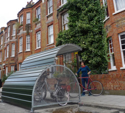 Now this is a good idea.  Love one of these near my house  (via London Cycling Campaign)