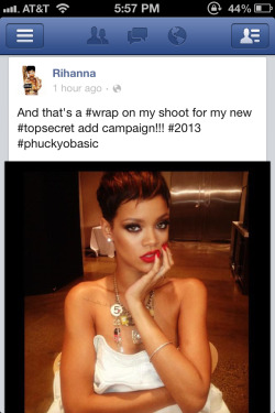 onemanshighfashionblog:  Add campaign  …rihanna is doing a chanel campaign. what the fuck is wrong with his planet.