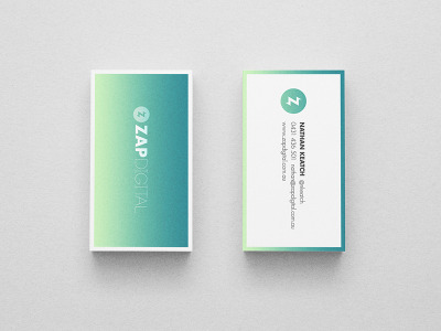 Zap digital business cards