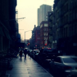 """Streets of TriBeCa"" #Rainy #Wet #Saturday #TriBeCa #LowerManhattan #NewYorkCity #NewYork #NYC #UrbanLandscape #UrbanDwellings #explore_community #explore_nyc #abrooklynsoul  (at TriBeCa)"