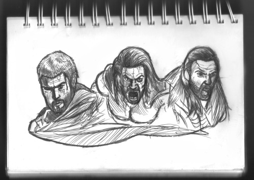 Sketchbook page dedicada a Spartacus War of The Damned Gannicus me ha quedado un tanto raro! DEVIANTART // BEHANCE // FACEBOOK