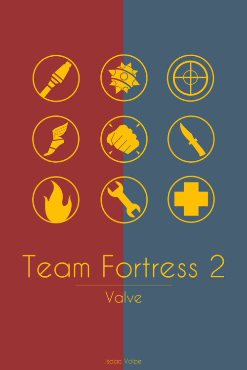 Team Fortress 2 by *Isaac-Volpe