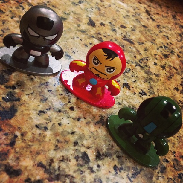 Picked up more Iron Man Minimuggs tonight! #hasbro #ironman #comics #marvel #marvelcomics
