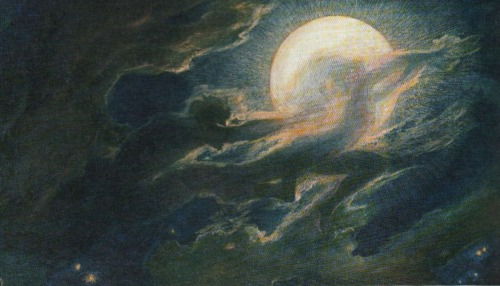 withnailrules:  Wolkengespenster (cloud ghosts) by Richard Riemerschmid, 1897