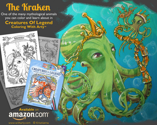 FinalKraken on Flickr.A promo painting! Original is sold. If you haven't released your inner artist yet, it may be time to start! amzn.com/1461067855