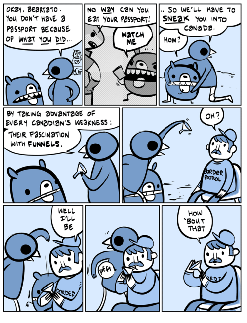Oh! Canada.nedroid.com  Don't spread this knowledge around.