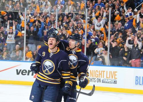 Steve Ott after he scored the opening goal of the season