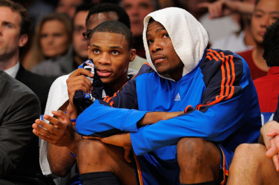 "Kevin Durant has a special nickname for Russell Westbrook. That nickname is ""Sasha Fierce"" because Westbrook is obsessed with the way he looks: ""On the court, he's a fierce competitor. Off the court, he's chilling in front of the mirror, making sure he got the right lip balm on."" [via Complex]"