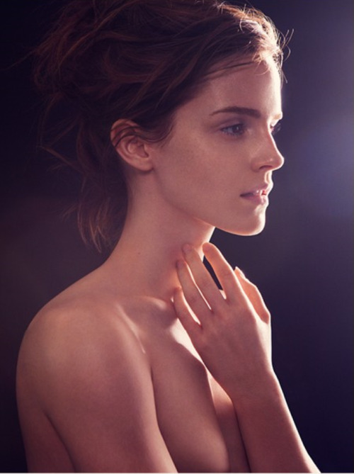 Emma Watson for the Natural Beauty campaign.