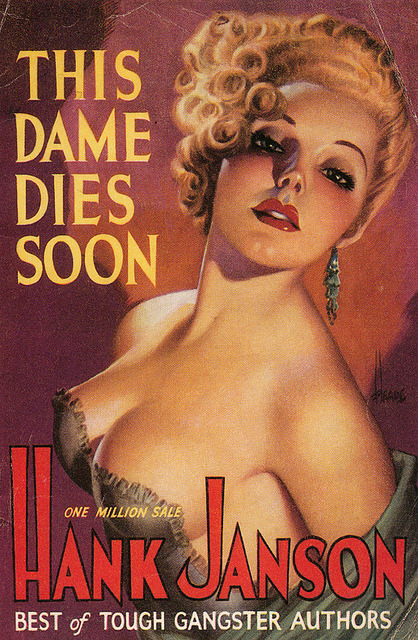 littlebunnysunshine:  This Dame Dies Soon by -=- G2 -=- on Flickr. This Dame Dies Soon