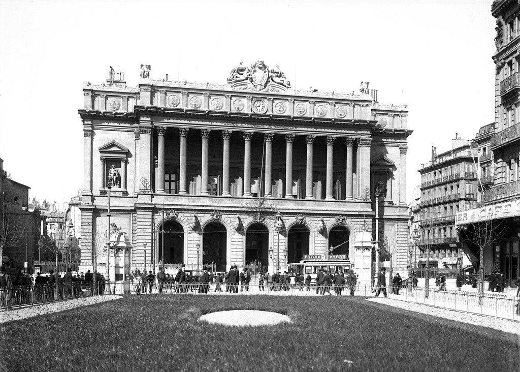 The stock exchange, Marseille