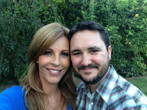 Wil Wheaton with beautiful, Wife Anne Wheaton