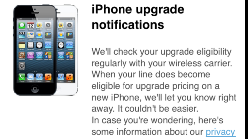Apple Store App For iPhone Updated To Alert You When You're Eligible For Upgrade Pricing