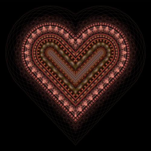 Fractal Heart by ~haywain (Wægen)       (fh519b) Available from DeviantART as high resolution (5000x5000px) download for free, or for purchase as print (prints, cards, mugs and more).