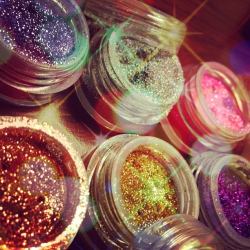 Glitters I got from #imats #glitter #sparkles #pretty #makeup #love #obsessed
