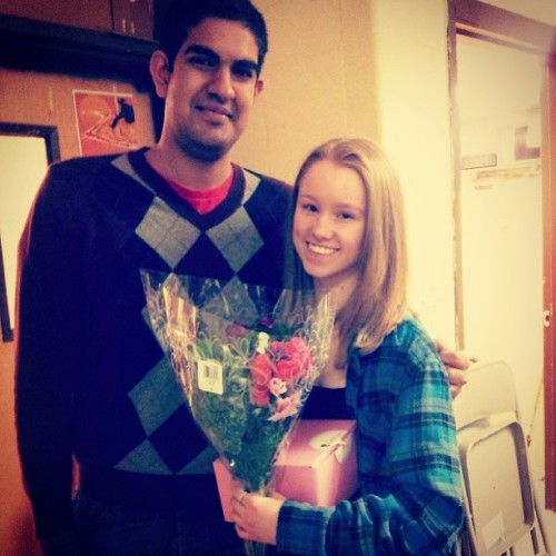 Going to #prom with an amazing person! So lucky and so excited :D